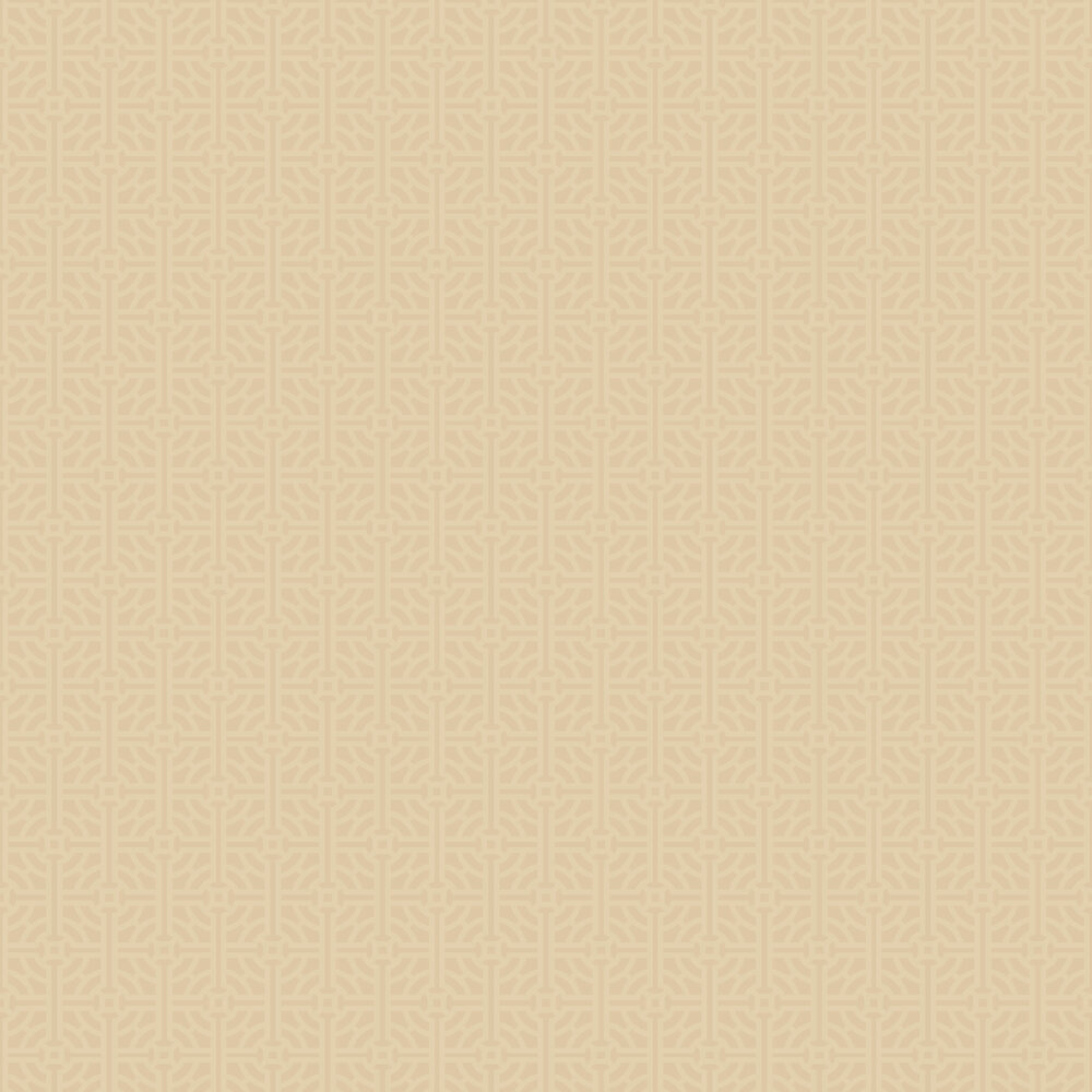 SketchTwenty 3 Fretwork Gold Wallpaper - Product code: SR00505