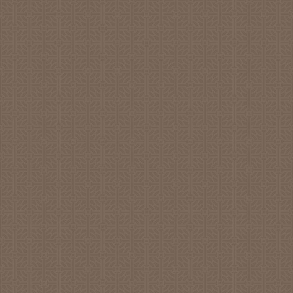 SketchTwenty 3 Fretwork Beaded Mocha Wallpaper - Product code: SR00506
