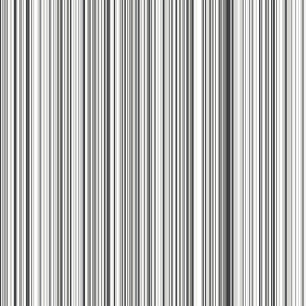 Ackford Wallpaper - Grey & Black  - by Boråstapeter