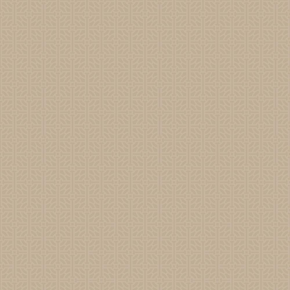 SketchTwenty 3 Fretwork Beaded Bronze Wallpaper - Product code: SR00539