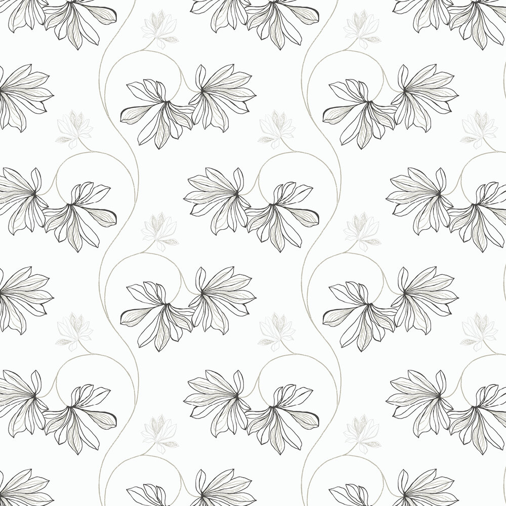 Espri Wallpaper - White - by Boråstapeter
