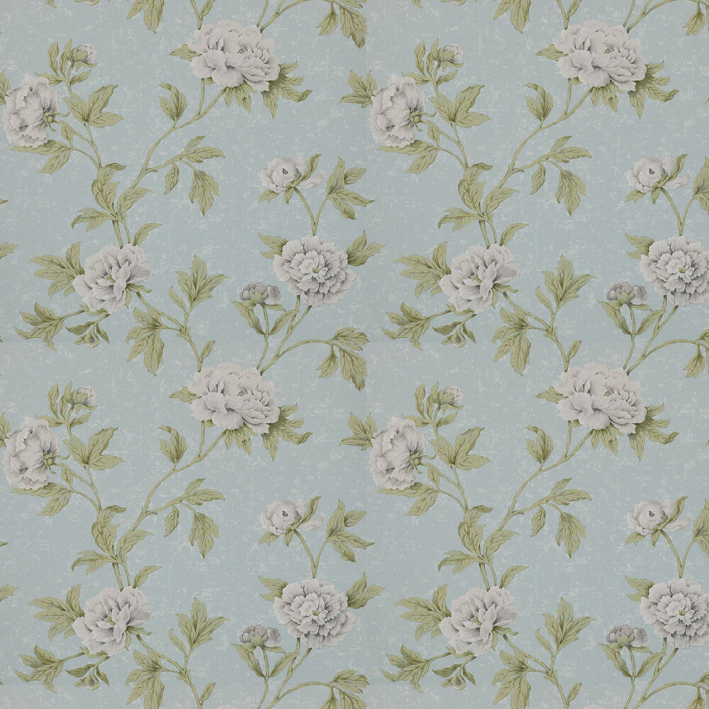Colefax and Fowler Karina Old Blue Wallpaper - Product code: 07174/03