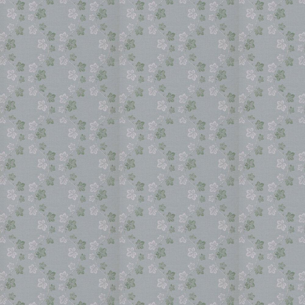 Lotta Wallpaper - Aqua / Green - by Colefax and Fowler