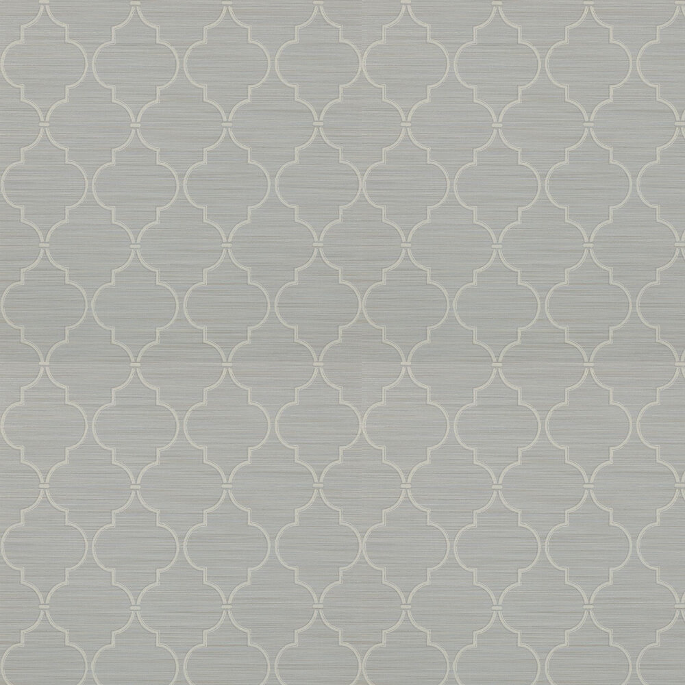 Colefax and Fowler Kenton Trellis Old Blue Wallpaper - Product code: 07171/03