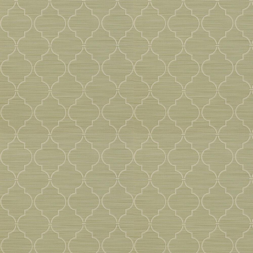 Colefax and Fowler Kenton Trellis Leaf Wallpaper - Product code: 07171/05