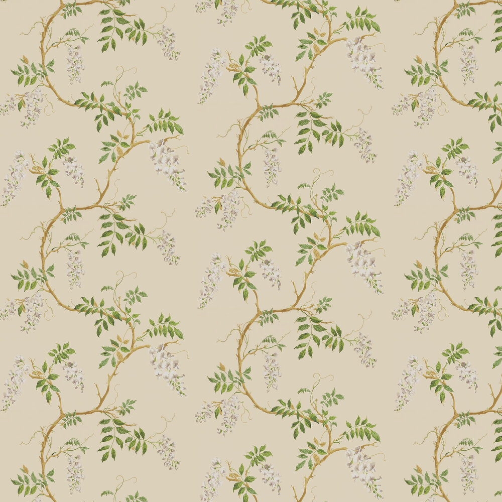 Alderney Wallpaper - Cream - by Colefax and Fowler