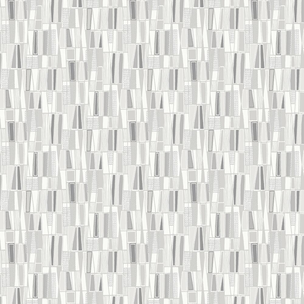 Boråstapeter Retro Grey Wallpaper - Product code: 5473