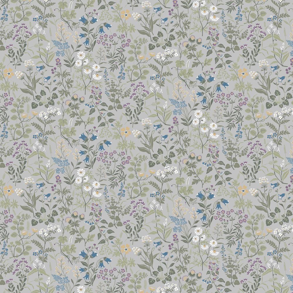 Boråstapeter Flora Grey Wallpaper - Product code: 5476