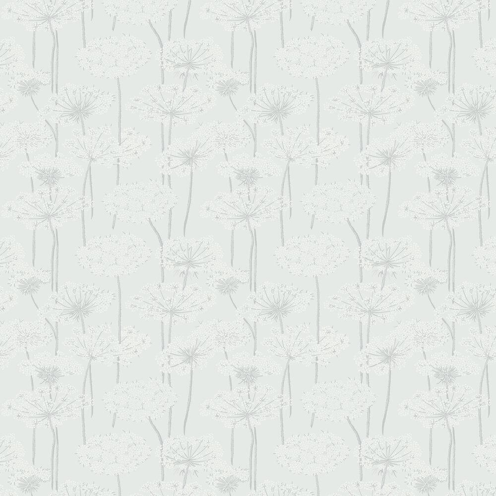 Ingrid Wallpaper - Duckegg - by Boråstapeter