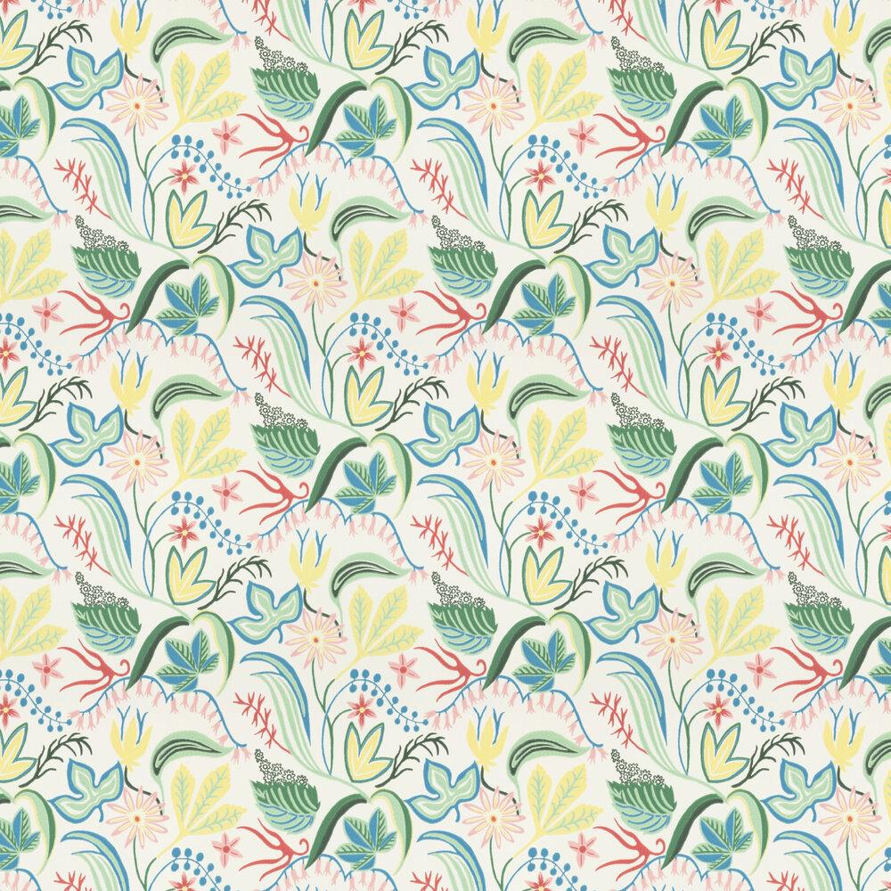 Saro Wallpaper - Pink/Green - by Sandberg