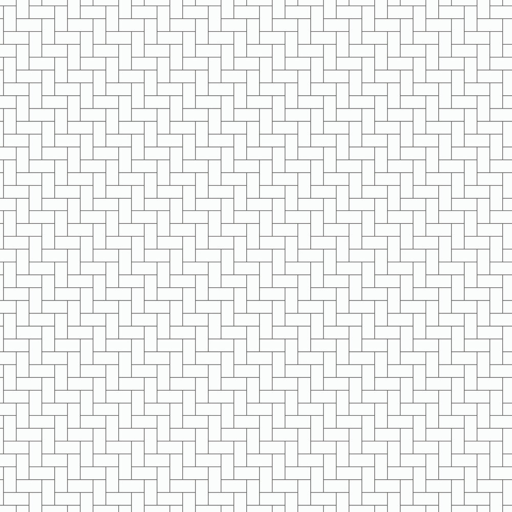 Engblad & Co Brick White & Black  Wallpaper - Product code: 6070