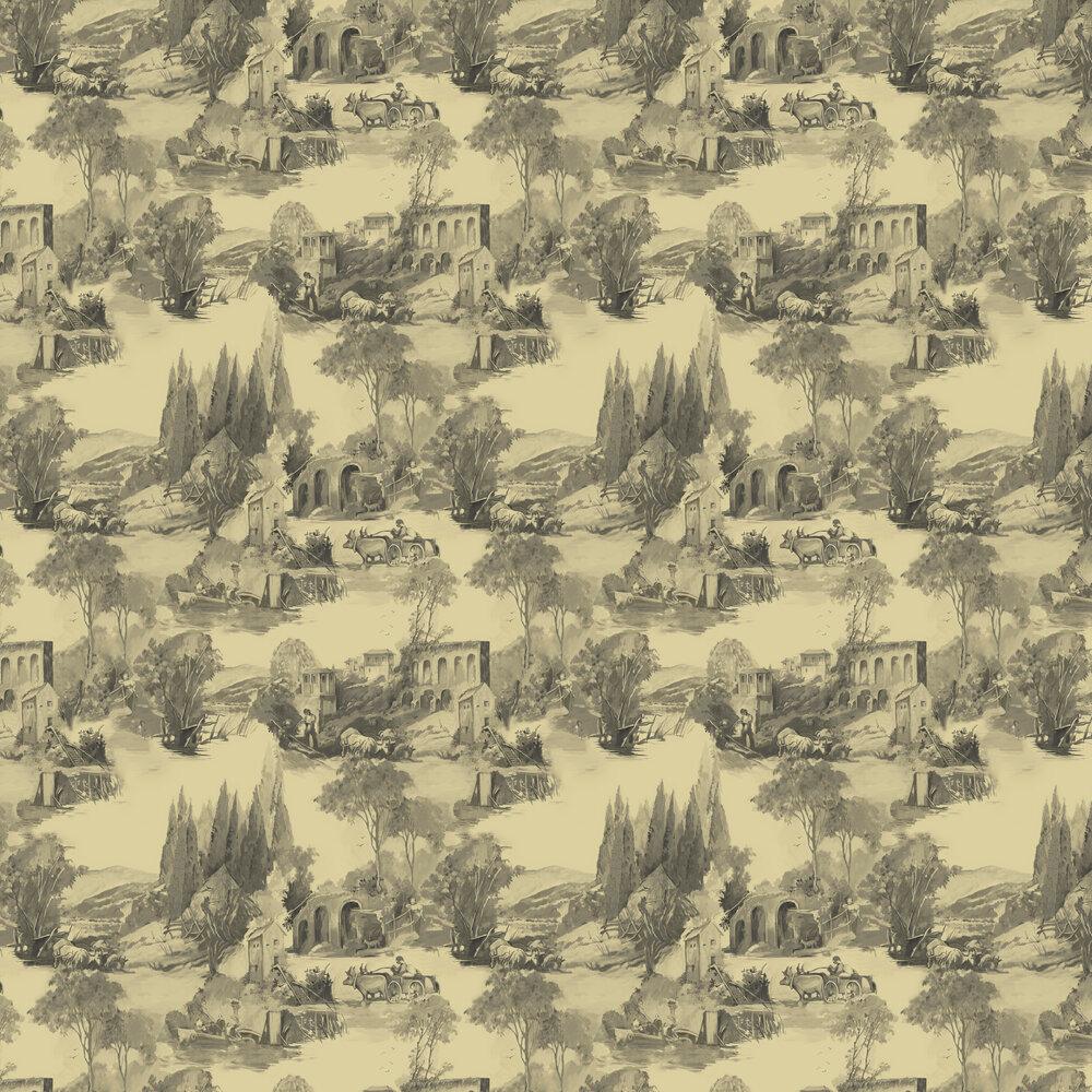 Anastacia Wallpaper - Gilver - by Clarke & Clarke