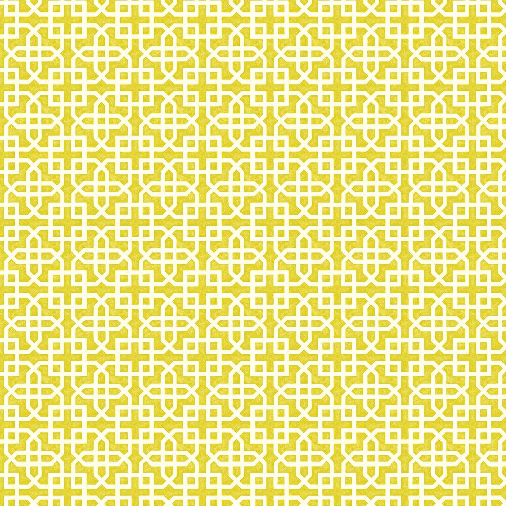 Clarke & Clarke Monserrat Citron Wallpaper - Product code: W0084/01
