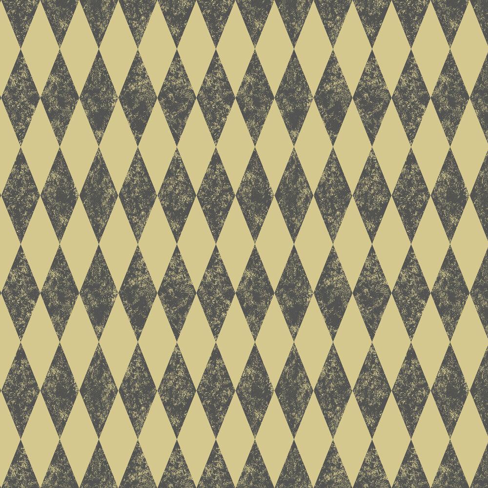 Tortola Wallpaper - Charcoal - by Clarke & Clarke
