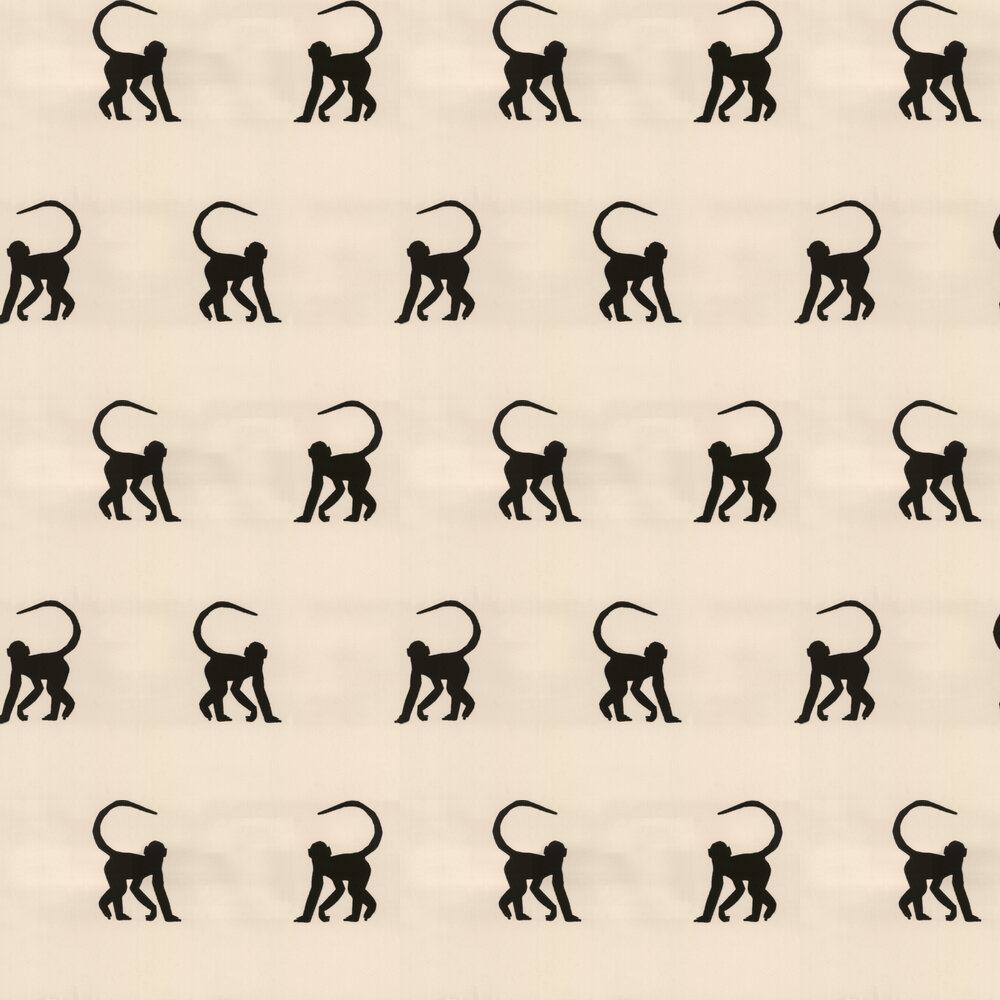 Andrew Martin Cheeky Monkeys Ebony Wallpaper - Product code: CM02-EBONY