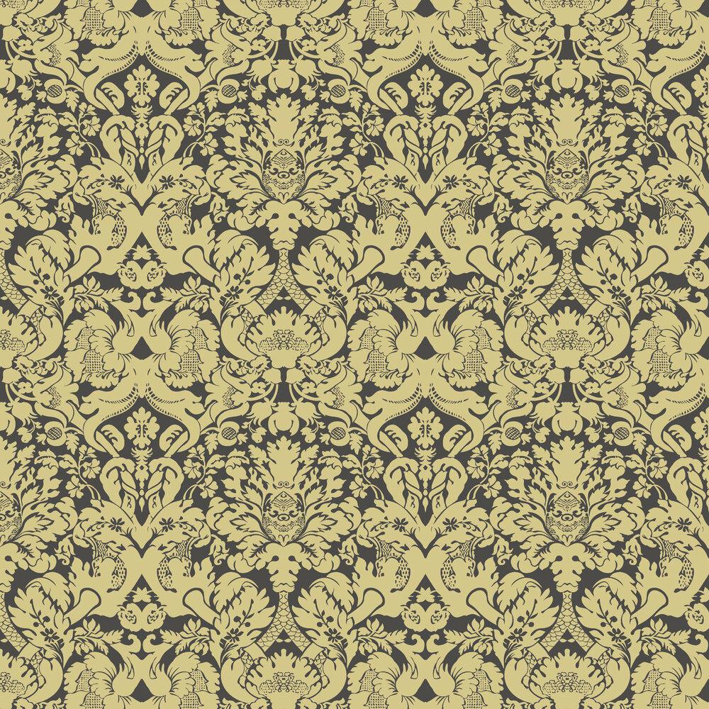 Clarke & Clarke Valentina Ebony Wallpaper - Product code: W0088/02