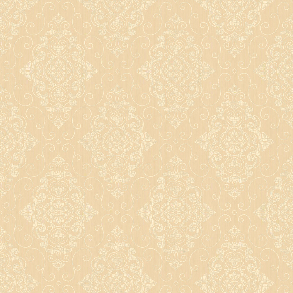 Today Interiors Damask Beige Wallpaper - Product code: 1300801