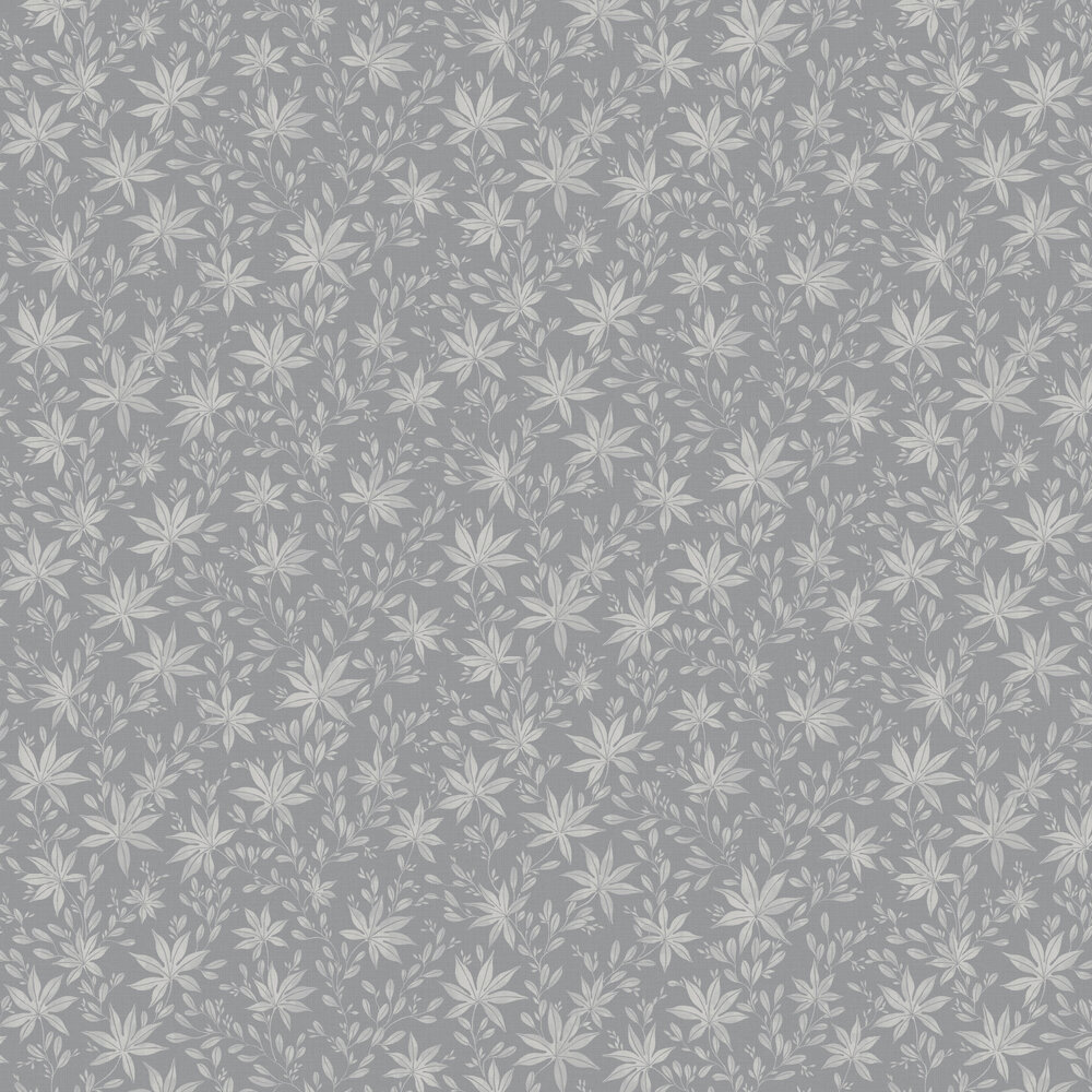 Engblad & Co Maple Leaf Grey Wallpaper - Product code: 3656