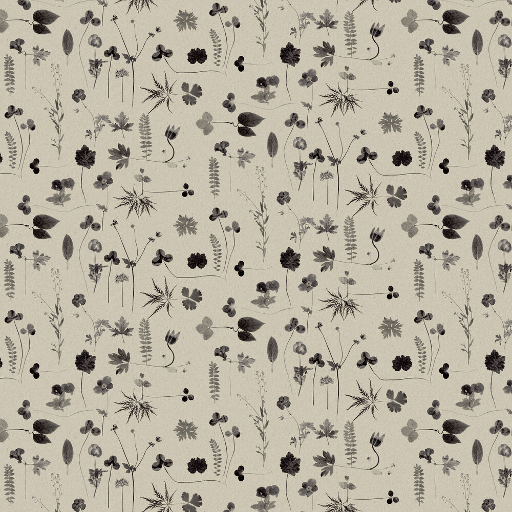 Engblad & Co Botanica Grey Wallpaper - Product code: 3662