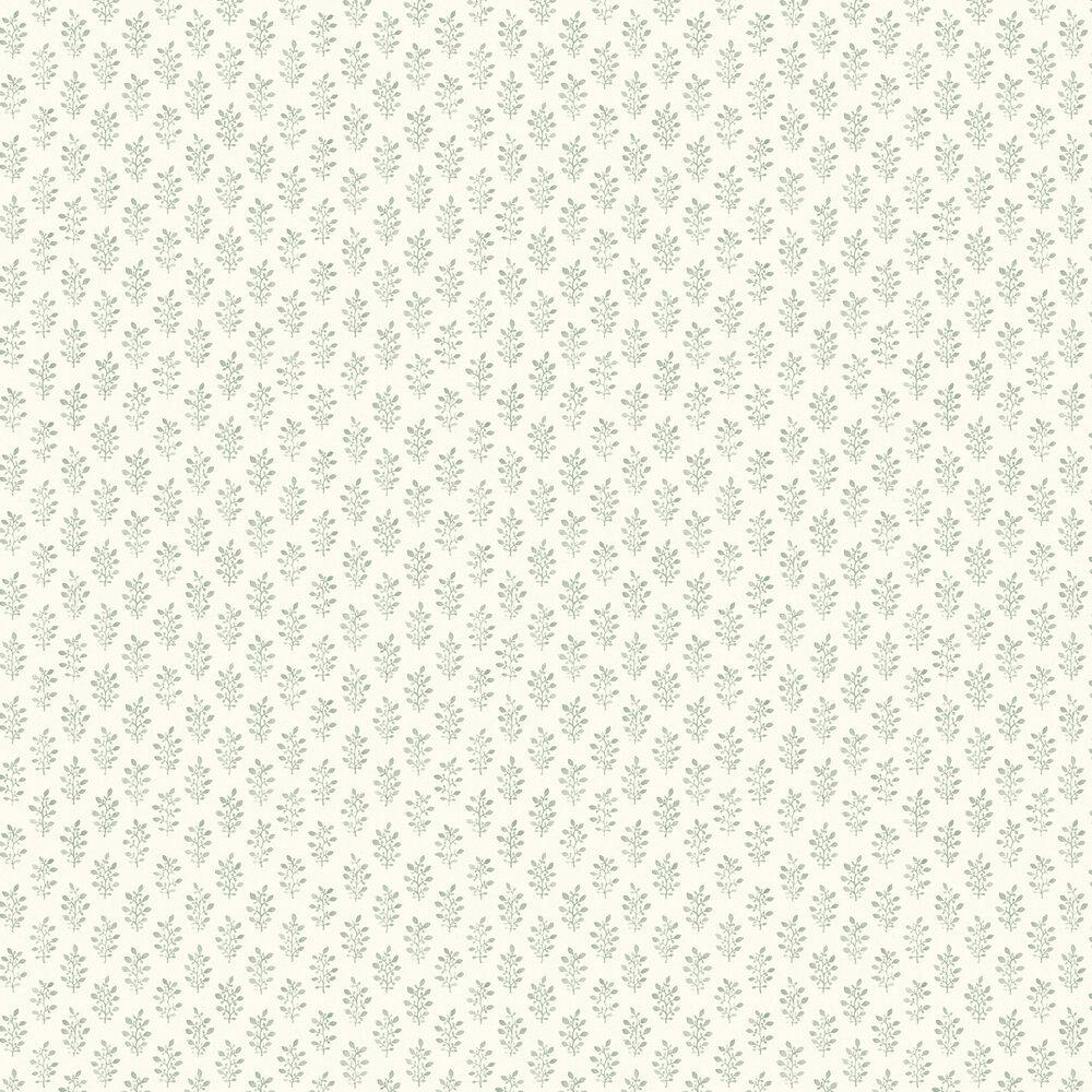 Engblad & Co Blockprint Green Wallpaper - Product code: 3668