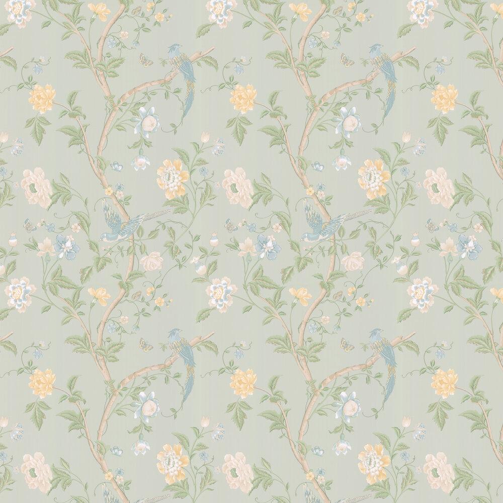 Laura Ashley Summer Palace Eau de Nil Wallpaper - Product code: 3468787