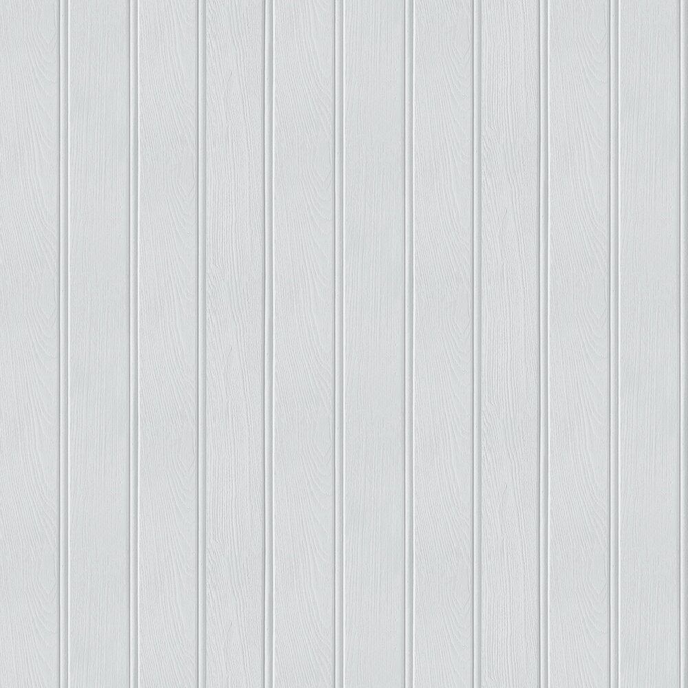Tongue & Groove Wallpaper - Grey - by Arthouse
