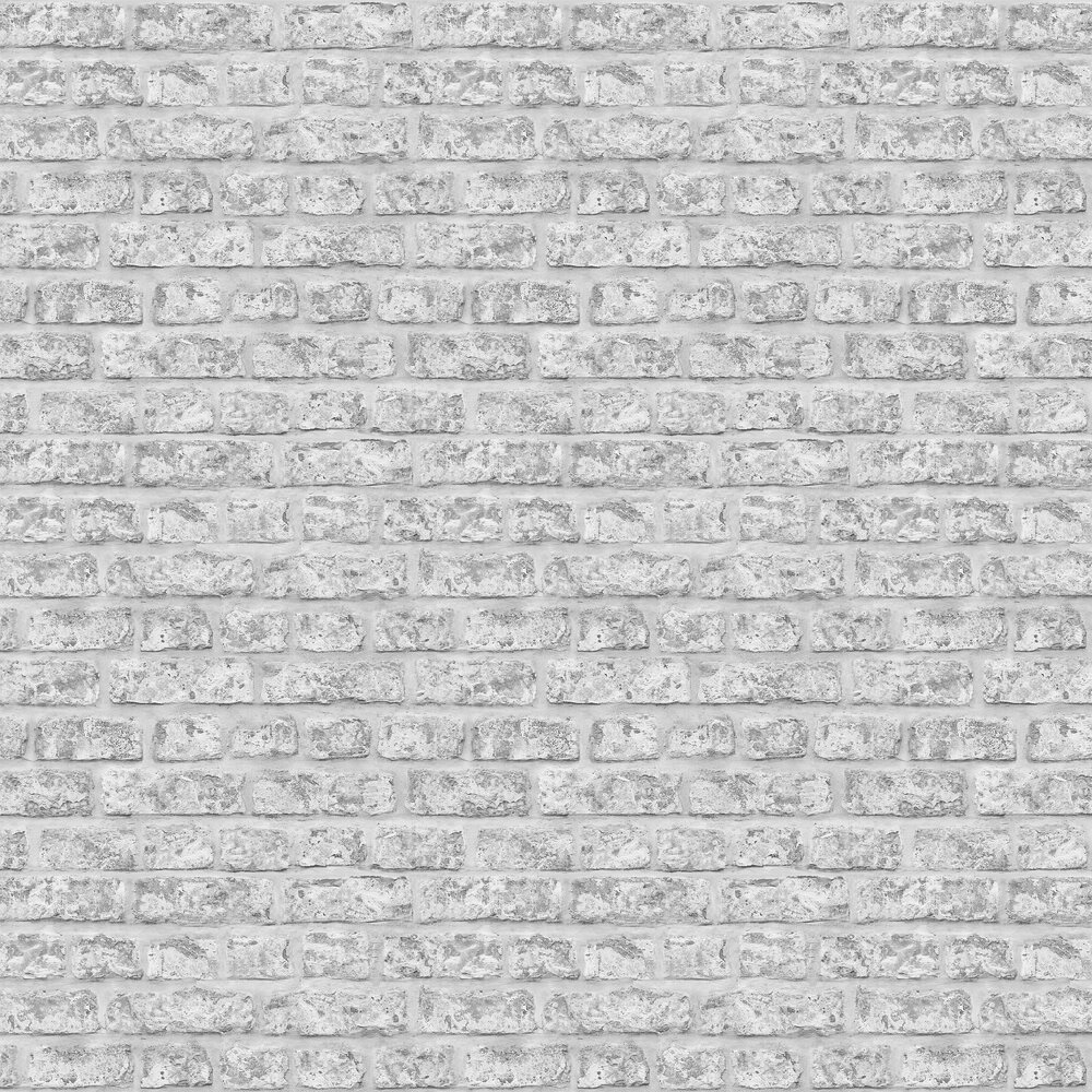 Rustic Brick Wallpaper - Grey - by Arthouse