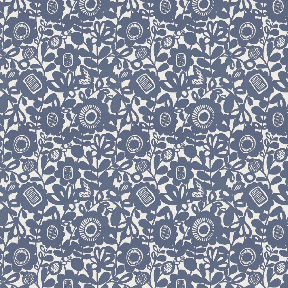 Kukkia Wallpaper - Ink - by Scion