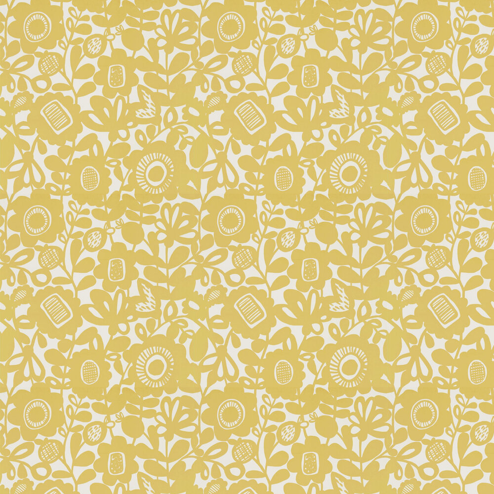 Scion Kukkia Sunshine Wallpaper - Product code: 111512