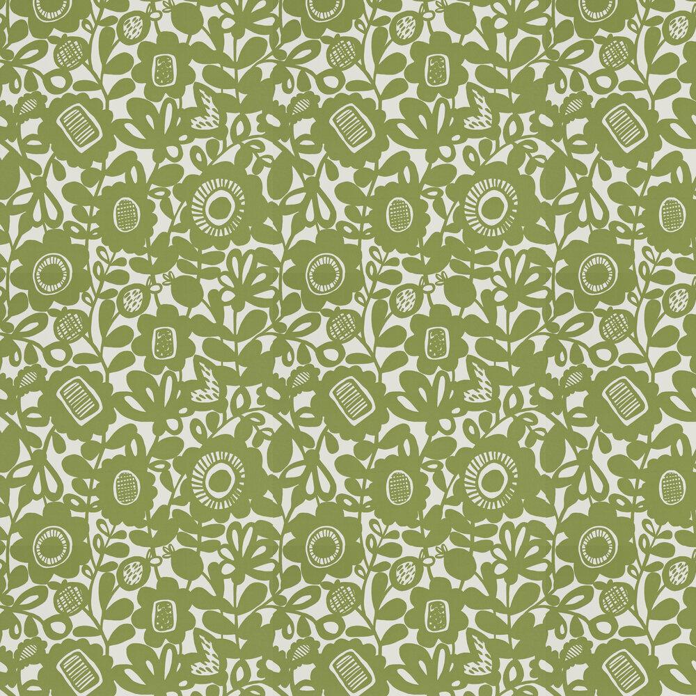 Kukkia Wallpaper - Gecko - by Scion