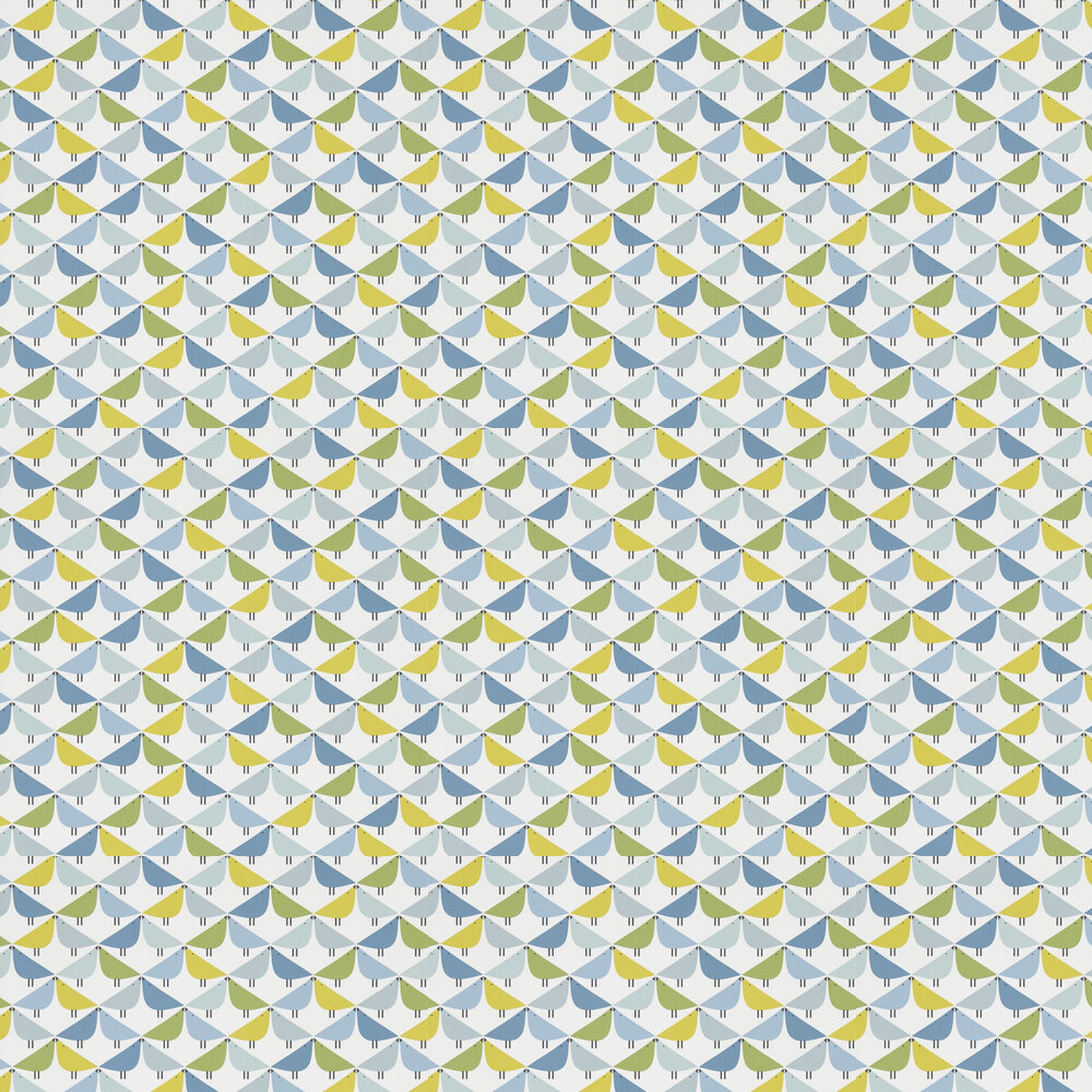 Scion Lintu Gecko / Pacific / Glacier Wallpaper - Product code: 111521