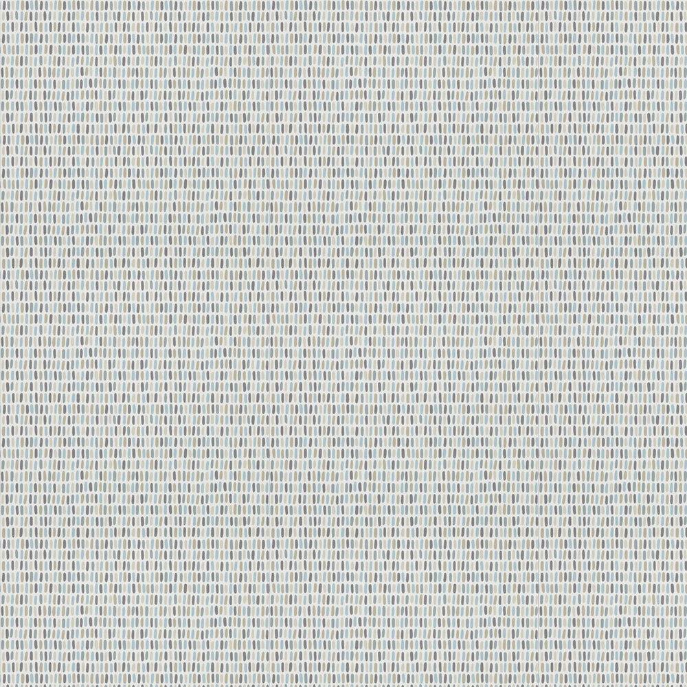Tikku Wallpaper - Glacier / Pebble / Hemp - by Scion