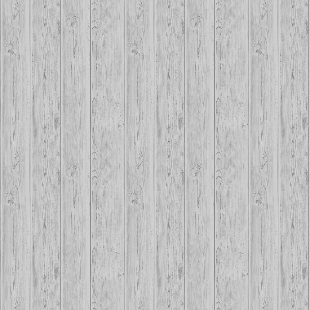 Lipsy London Metallic Wood Silver Wallpaper - Product code: 144701
