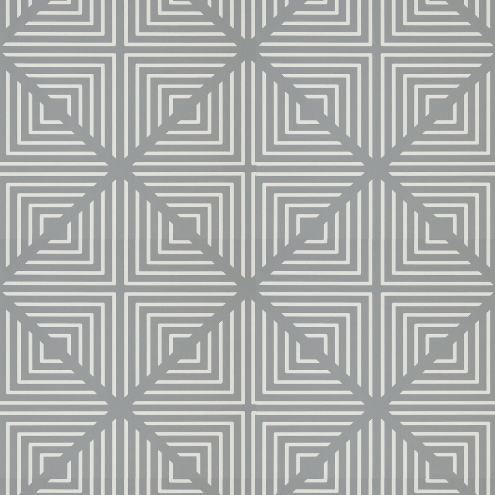Radial Wallpaper - Slate and Chalk - by Harlequin