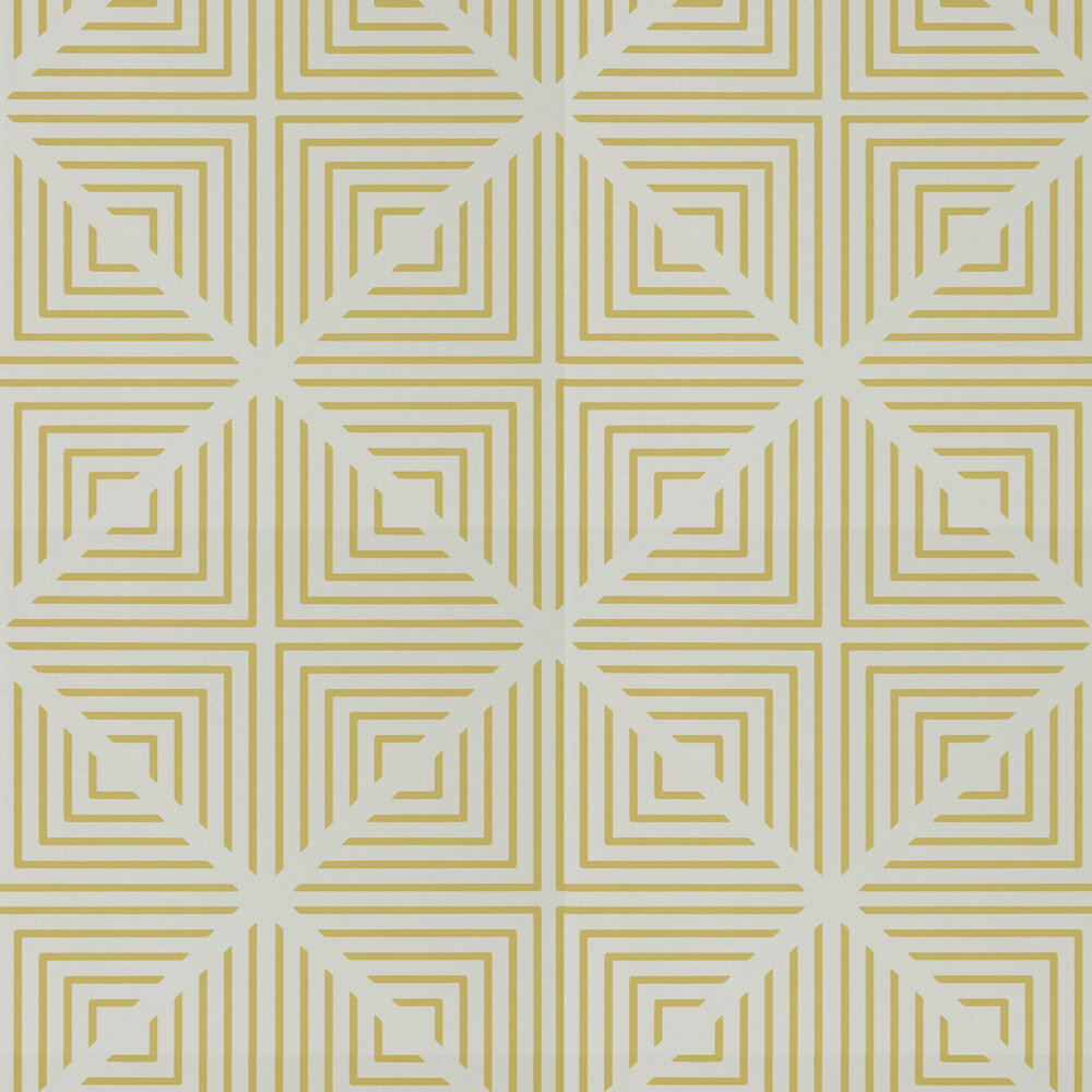 Radial Wallpaper - Mineral and Zest - by Harlequin