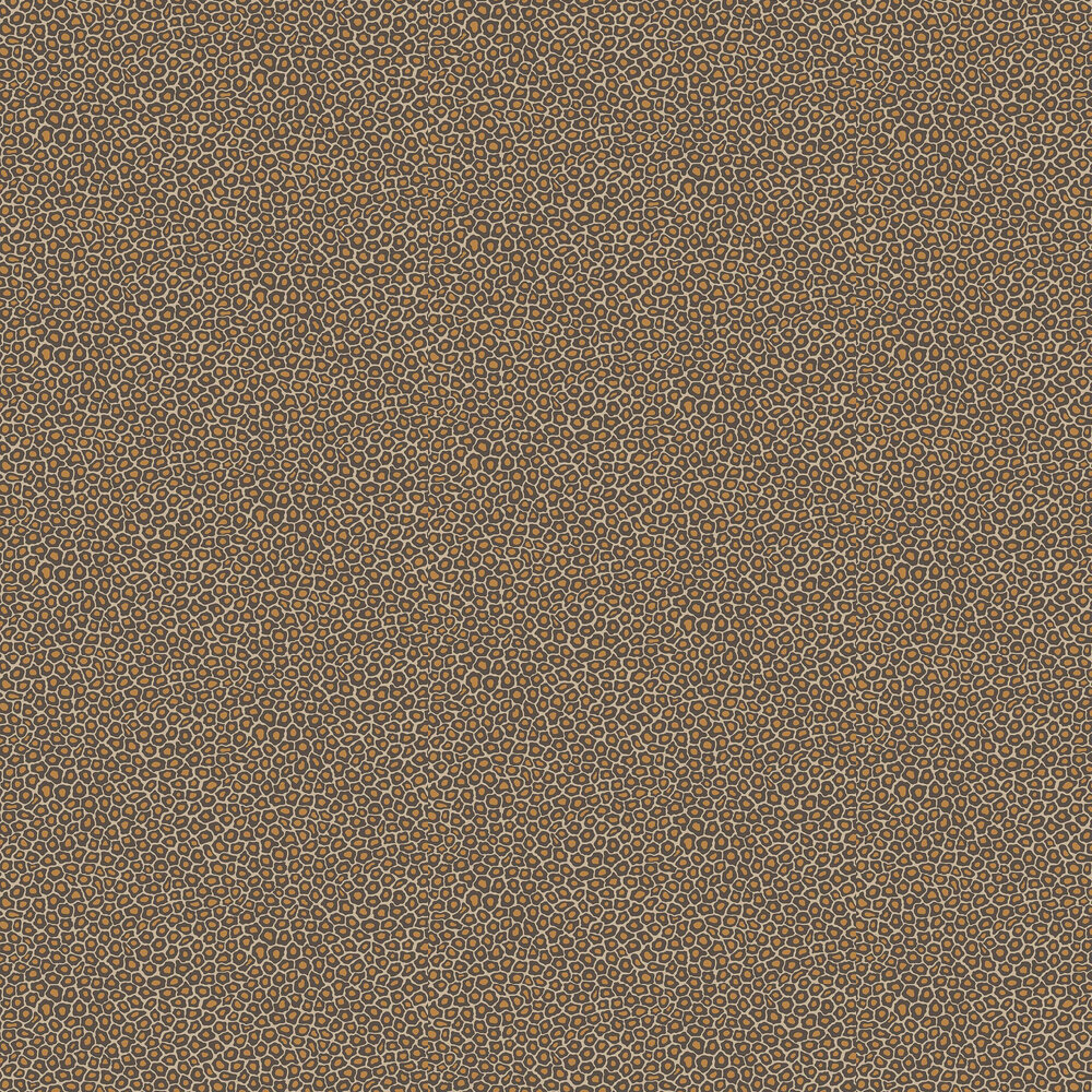 Cole & Son Senzo Spot Brown / Gold Wallpaper - Product code: 109/6027