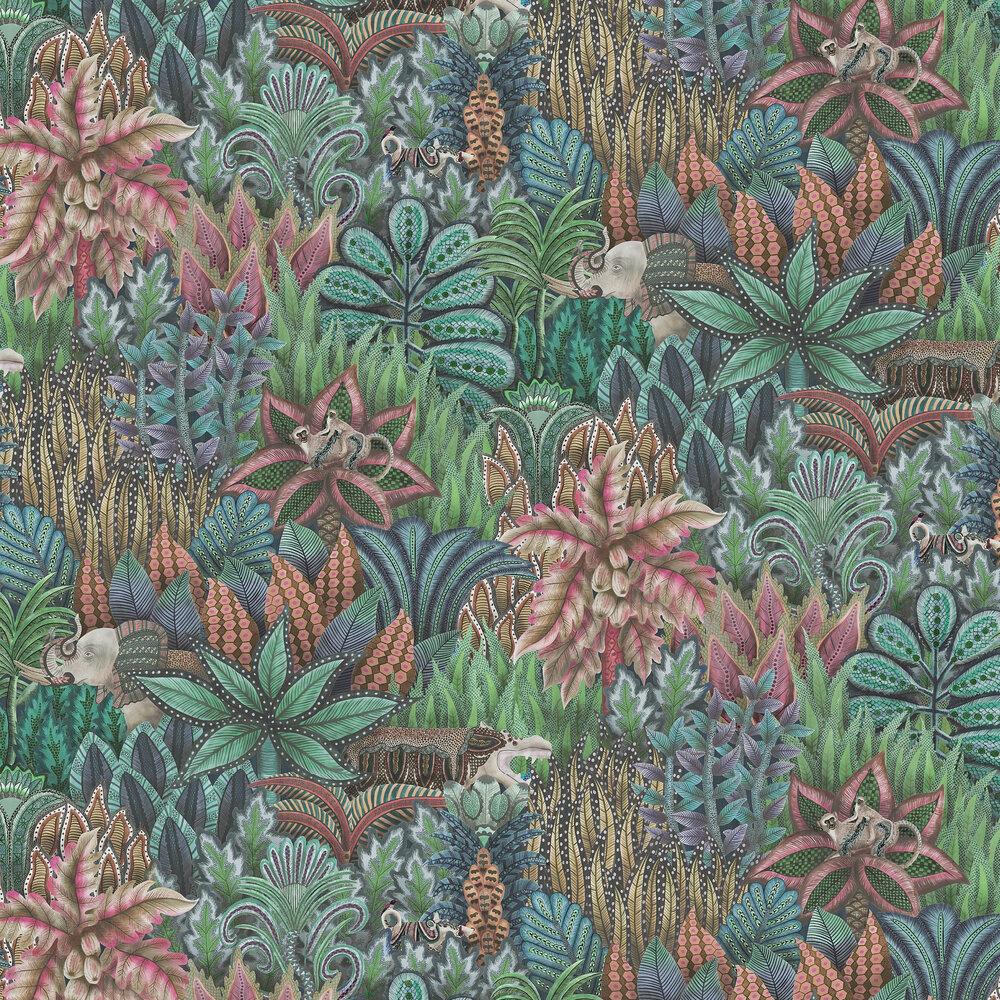 Singita Wallpaper - Blue - by Cole & Son