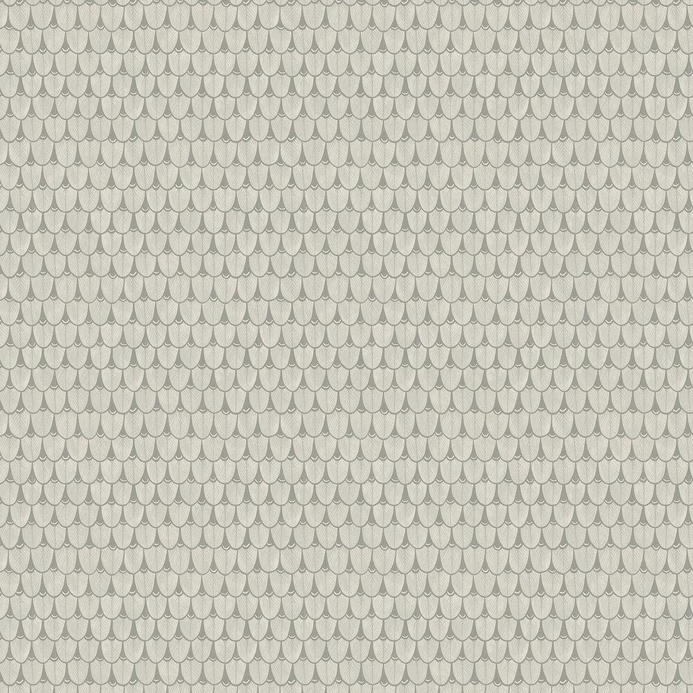 Narina Wallpaper - Soft Grey - by Cole & Son