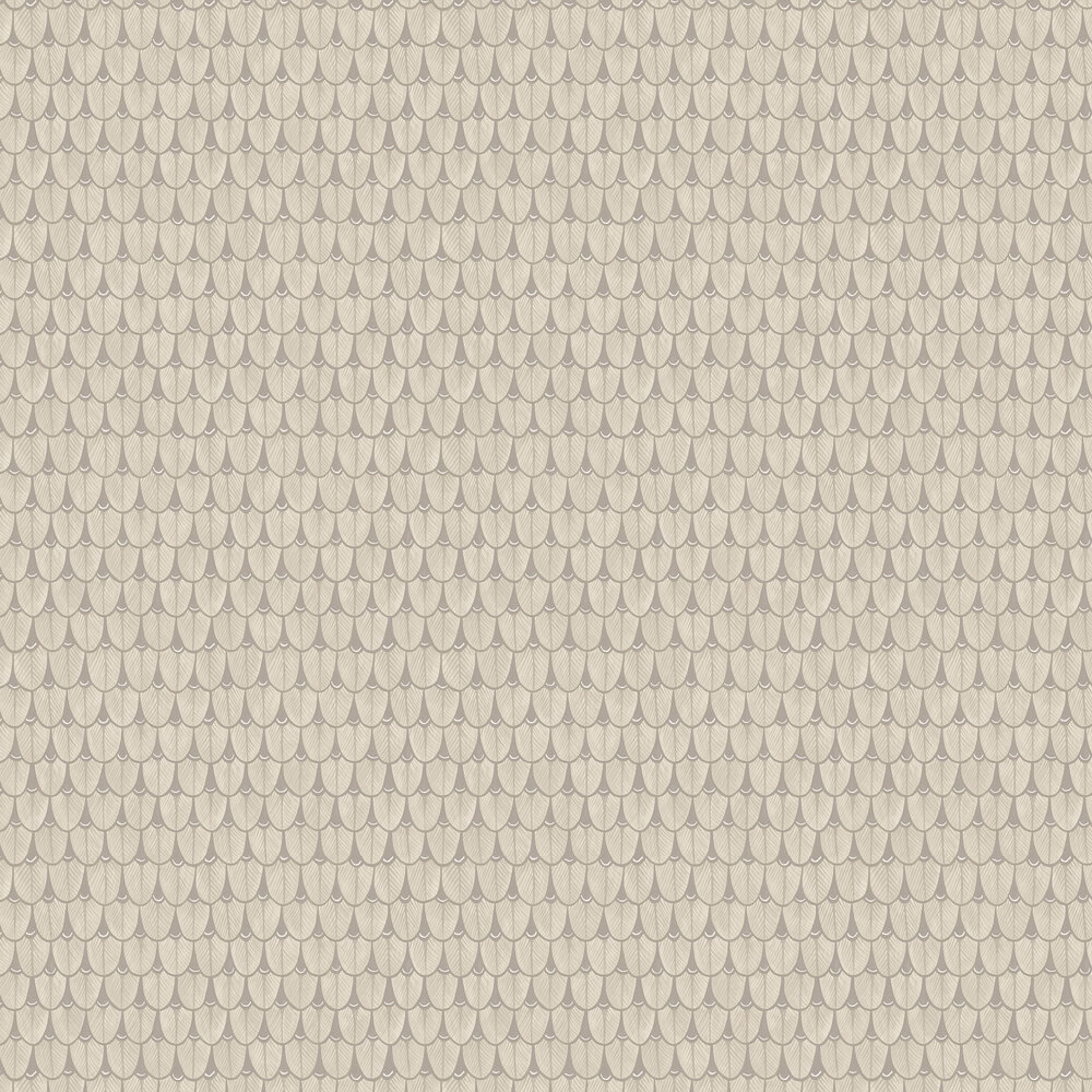 Narina Wallpaper - Linen - by Cole & Son