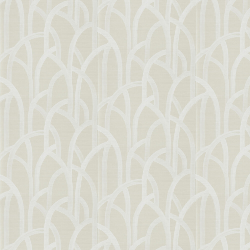 Meso Wallpaper - Champagne - by Harlequin
