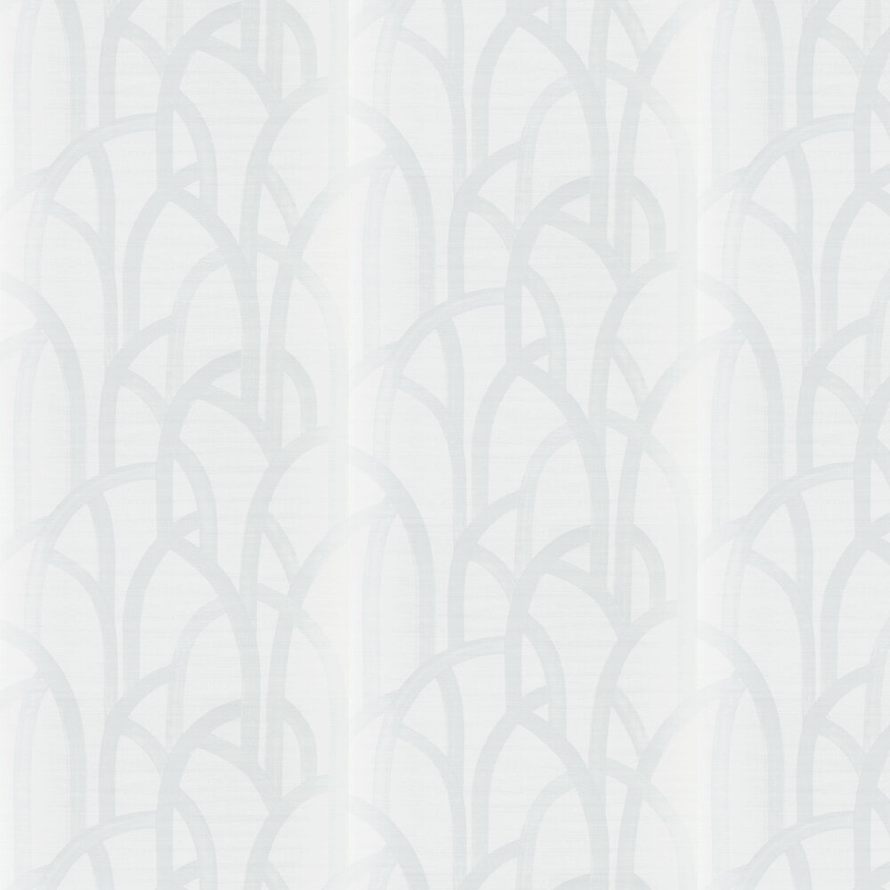 Meso Wallpaper - Ivory - by Harlequin