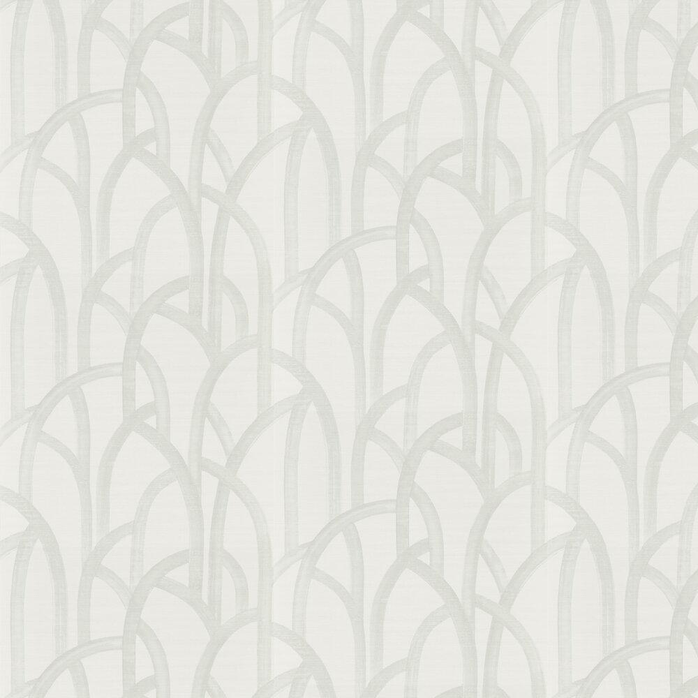 Meso Wallpaper - Dove - by Harlequin