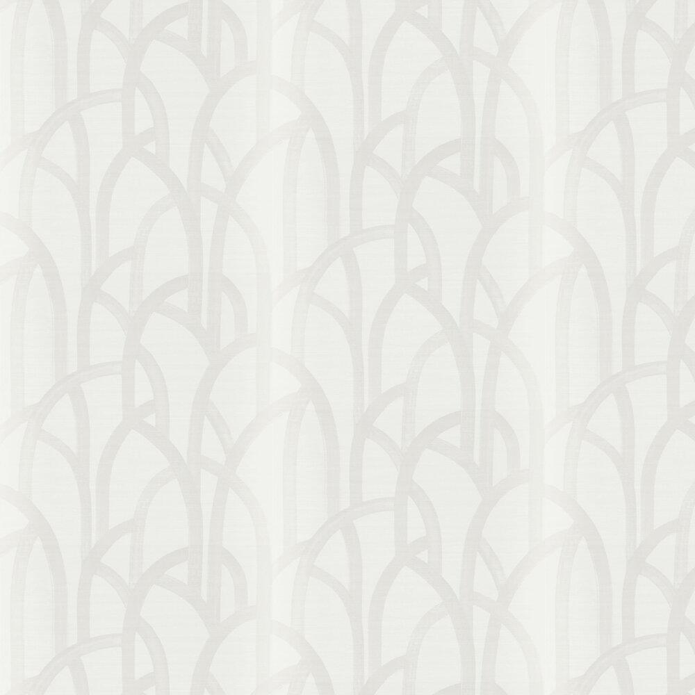 Meso Wallpaper - Linen - by Harlequin