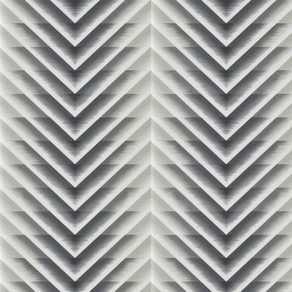 Makalu Wallpaper - Flint - by Harlequin