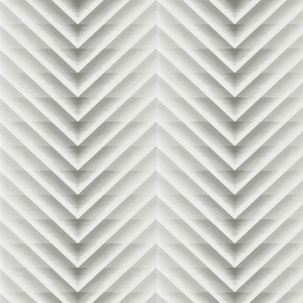 Makalu Wallpaper - Steel - by Harlequin