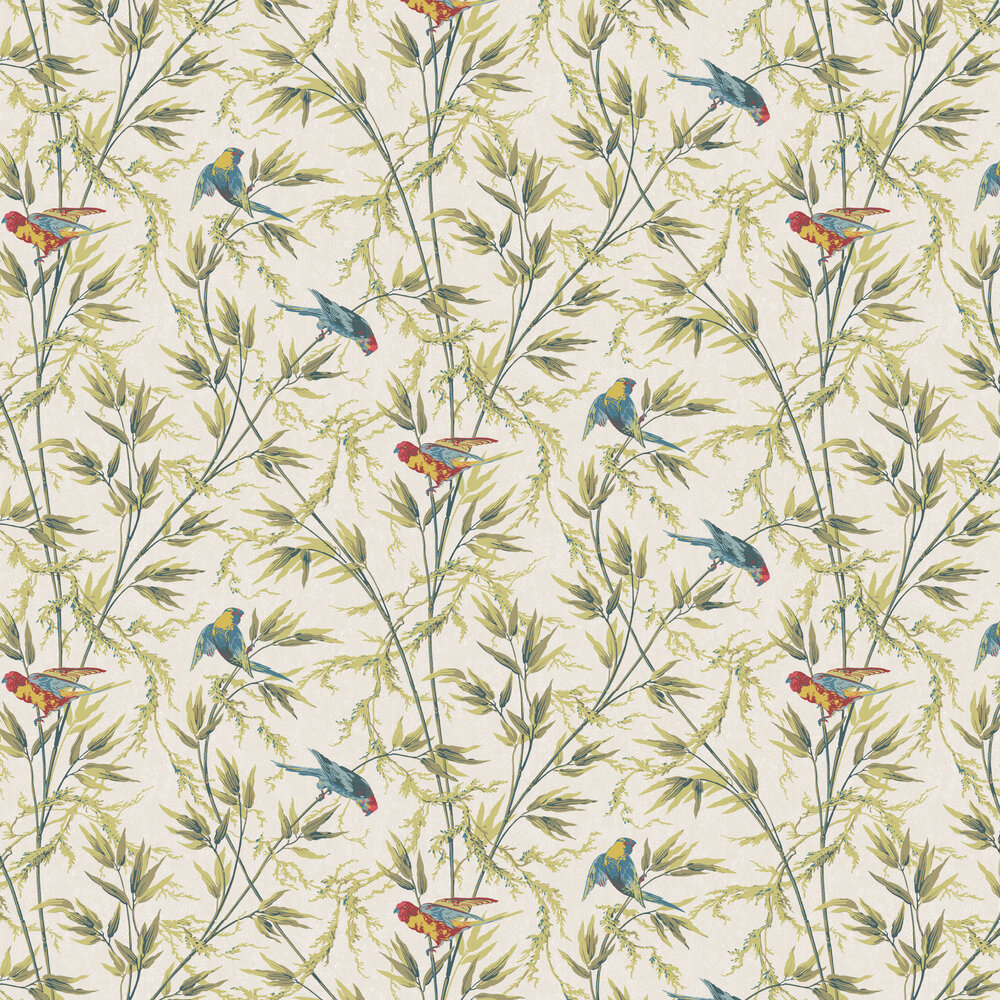 Great Ormond St By Little Greene Tropical Wallpaper