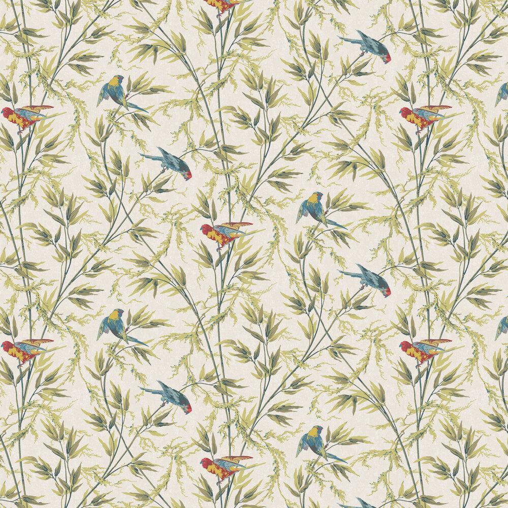Little Greene Great Ormond St Tropical Wallpaper - Product code: 0251GOTROPI