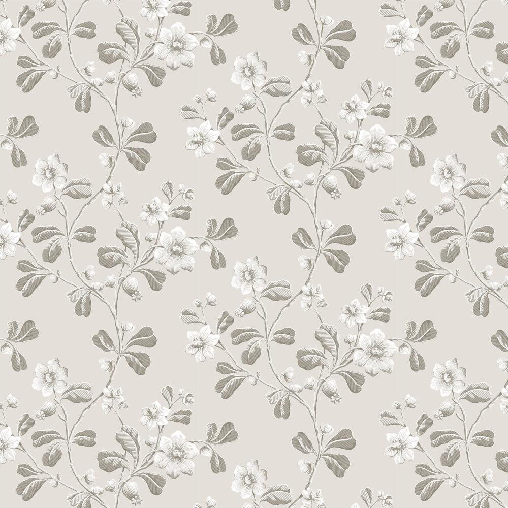 Broadwick St Wallpaper - Pitch - by Little Greene