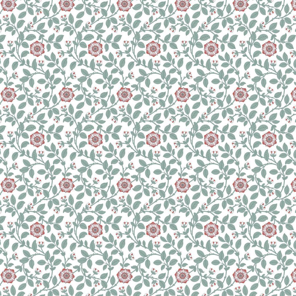 Richmond Green Wallpaper - Dorcas - by Little Greene