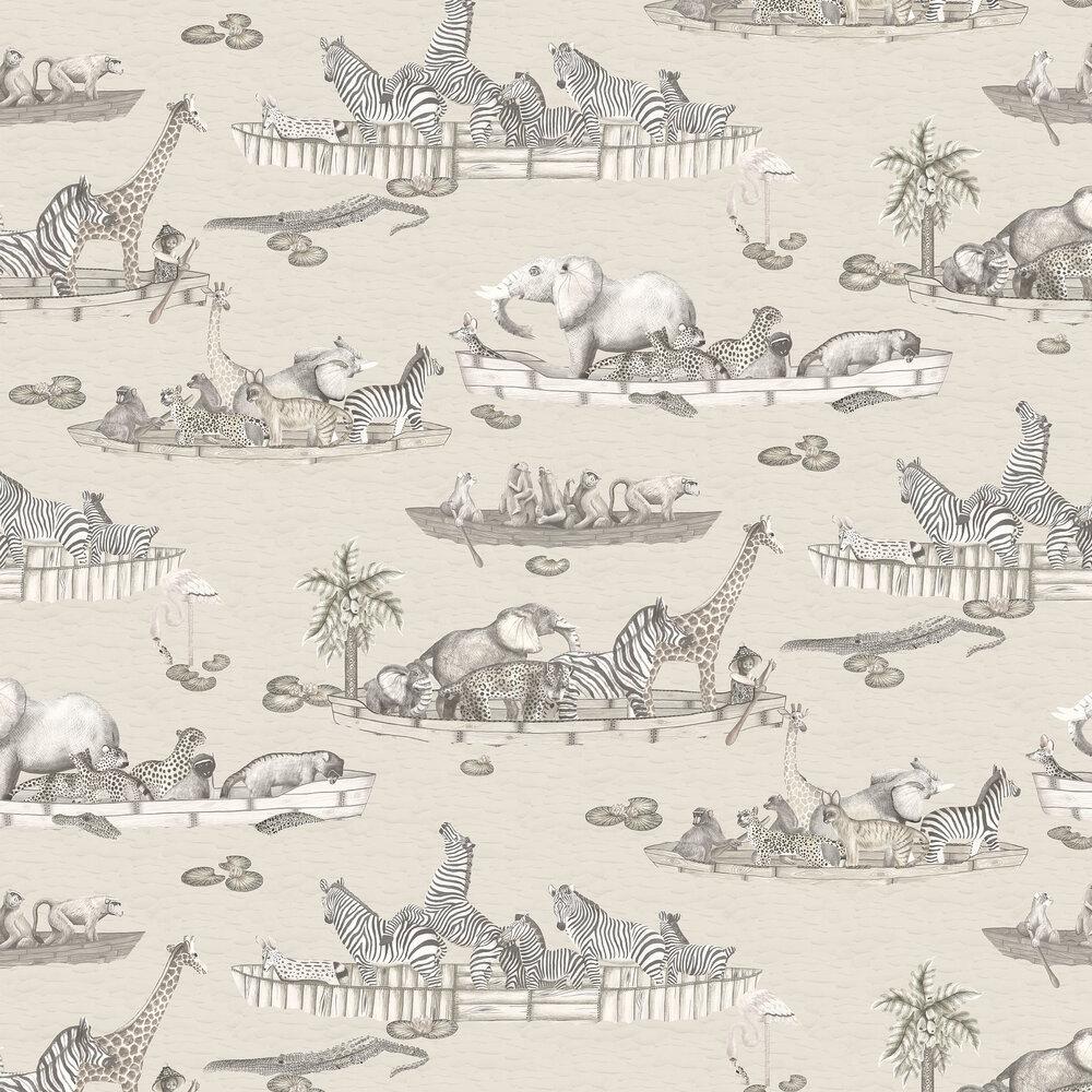 Zambezi Wallpaper - Neutral - by Cole & Son